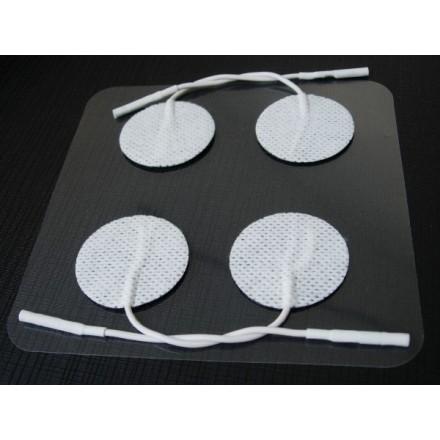 Electrodos Redondos Autoadhesivos Verity Medical